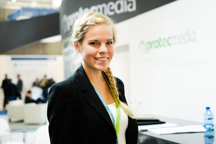Messehostess E-World Essen