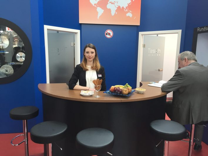 Messehostess Fruit & Logistica Berlin